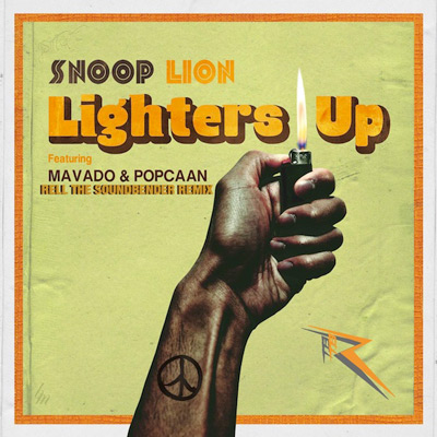 Snoop-Lion-Lighters-Up-Rell-the-Soundbender-Remix-artwork